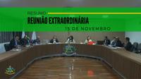 Resumo da Reunião Extraordinária do dia 15 de novembro de 2019
