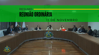 Resumo da Reunião Ordinária do dia 11 de novembro de 2019