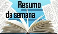 RESUMO DA REUNIÃO ORDINÁRIA DO DIA 15 DE OUTUBRO DE 2018