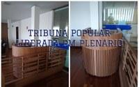 Tribuna Popular Liberada em Plenário